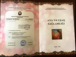"""""""Printing informative material – Mother and Child Health (MCH) handbook on increasing awareness pregnant woman and her family about MCH as a main aim of improving MCH in Azerbaijan"""""""