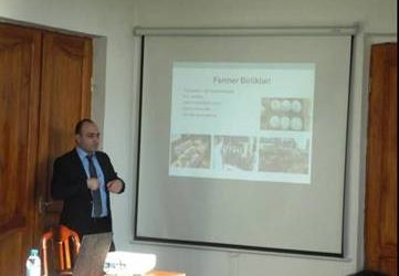 Workshop in Vegetable Scientific Research Institute, Ministry of Agriculture