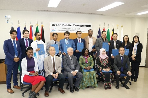 Learning Japanese experience in Urban Public Transport[Training]
