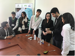 """Procurement of testing equipment and conducting the seminars for volunteers of the Ministry of Agriculture of Azerbaijan regarding how to use equipment on soil testing (PH meter) and GPS for measuring fields"""