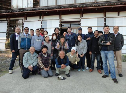 Learning Japanese experience in rural development and farmers support